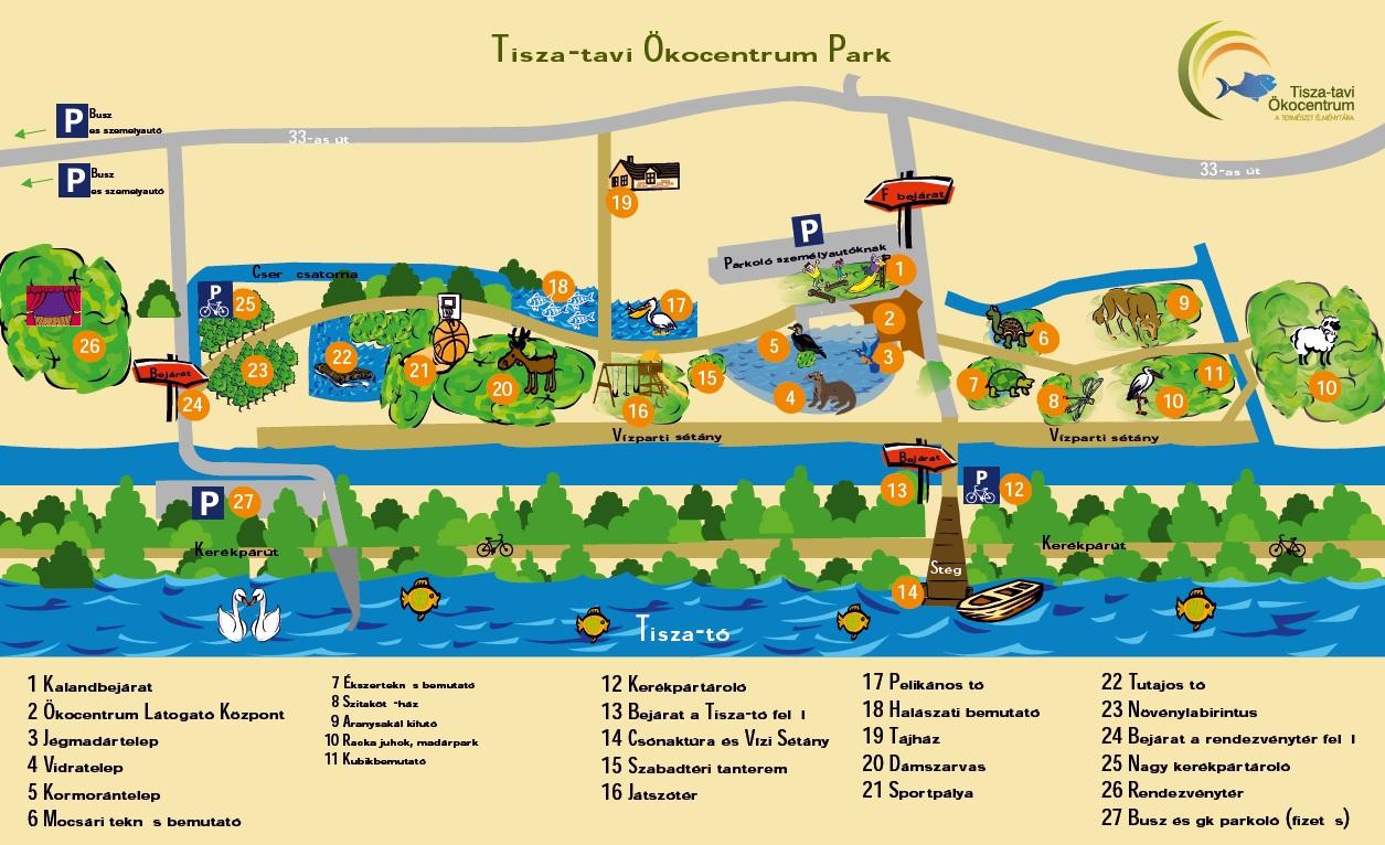 poroszló térkép A vidra és a hód Egy nap a Tisza tó partján poroszló térkép